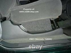 01-06 Silverado/Sierra HD Crew Cab 10 Dual Downfire Box by Subthump