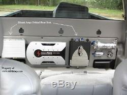 01-06 Silverado/Sierra HD Crew Cab Dual Downfire Box by Subthump
