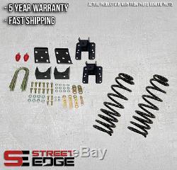 04-06 Silverado/Sierra Crew Cab 1500 2WD 3 Front & 5 Rear Lowering Kit