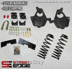 04-06 Silverado/Sierra Crew Cab 1500 2WD 4 Front & 6 Rear Lowering Kit