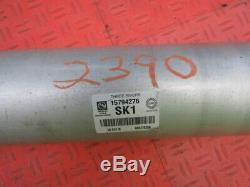 07 08 09 10 11 12 Silverado Sierra 1500 4X4 Ext Crew Cab Rear Drive Shaft 143.5