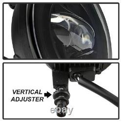 07-14 Chevy Silverado GMC Sierra 1500 2500 3500 Round Fog Bumper Light CREE LED