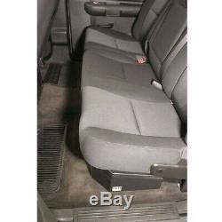 07-c Silverado/sierra Crew Cab Full Width Under Seat Lockbox Tuffy Sec 307-01