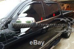 14-18 Chevy/GMC Silverado/Sierra Crew Cab Window Sill Trim Stainless Steel