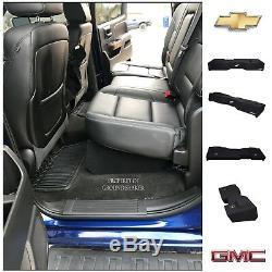 14-2018 Chevy Silverado Gmc Sierra Crew Cab Sub box 8 Dual Ported Sub Enclosure