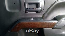 16-17 GMC Sierra CrewithDouble Cab Right RH Front Interior Door Panel (Black)