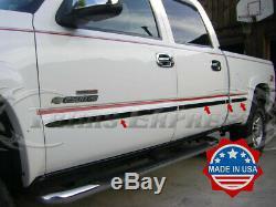 1999-2006 Silverado/Sierra Crew Cab 5.5 Short Bed Flat Body Side Molding 2
