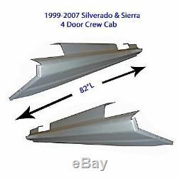 1999-2007 Chevy Silverado Suburban Crew Cab Rocker Panels 1 Pair