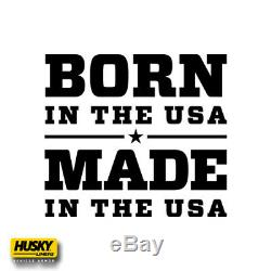 19-20 Chevy Silverado 1500 Crew Cab Husky Liners WeatherBeater Floor Mats Black