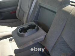 2003-2007 Chevy Silverado/GMC Sierra Crew Cab, Rear Exact Seat Covers, DARK TAN