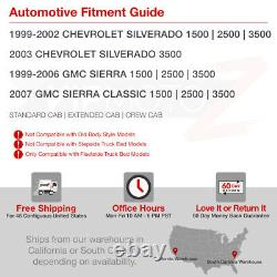 2004-2007 GMC Sierra 1500 2500 3500 FACTORY STYLE Rear Brake Tail Lights PAIR
