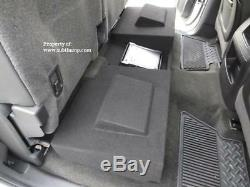 2007-2013 Silverado/Sierra Crew Cab Dual 10 Downfire Sub Box With Amp Space