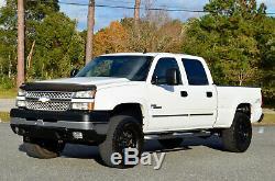 2007 Chevrolet Silverado 2500 CLASSIC CREW CAB LT3 4WD LIFTED 200+ HD PICS