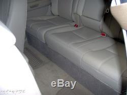 2007 to 2013 GMC Sierra Crew Cab 2 12 Custom Box Enclosure Chevrolet Silverado