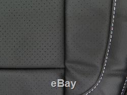 2014 2015 2016 2017 Silverado Sierra crew rear Katzkin leather seat cover set