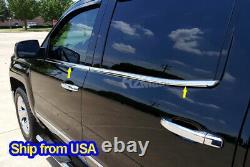 2014-2018 Chevy Silverado/GMC Sierra Crew Cab Window Sill Door Trim Overlay