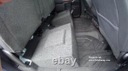 2019-2021 Silverado/Sierra Crew Cab Dual 12 Downfire Sub Box With Amp Space