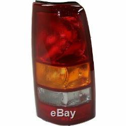 2 New Tail Lights RH & LH For 99-02 Silverado 1500/2500 / 99-03 Sierra 1500/2500