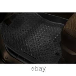 31111 Husky Liners Floor Mats Front New Black for Chevy Suburban Blazer C10 GMC