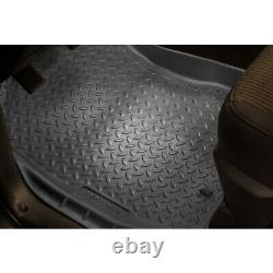 31302 Husky Liners Floor Mats Front New Gray for Chevy Avalanche Suburban Yukon