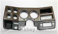 75-80 NEW Woodgrain Chevy GMC pickup truck dash bezel gauge cluster cover NO AC