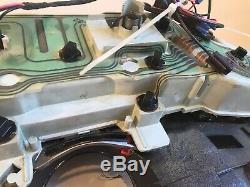 75-80 Original Woodgrain ChevyGMC pickup truck dash bezel gauge cluster withgauges