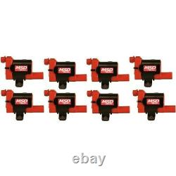 82638 MSD Set of 8 Ignition Coils New for Chevy Suburban Yukon Silverado 1500 XL
