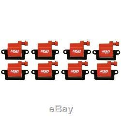 82648 MSD Set of 8 Ignition Coils New for Chevy Suburban Yukon Silverado 1500 XL