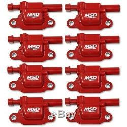 82668 MSD Ignition Coils Set of 8 New for Chevy Suburban Yukon Silverado 1500 XL