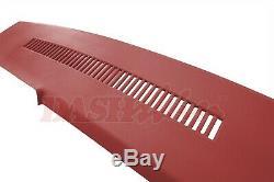 88-94 K1500 C1500 Suburban Yukon Pickup Dash Skin Overlay Cap Cover Red