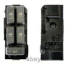901-021 Dorman Power Window Switch Front Driver Left Side New Gray for Chevy LH