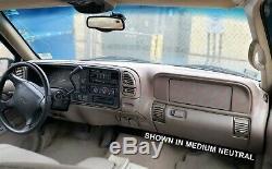 97 98 99 00 Suburban Tahoe Yukon Dash Cover Overlay Skin Dark Navy Blue 26