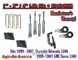 99-06 CHEVY GMC 1500 Silverado Sierra CREW CAB 1 3 Keys / 4 Kit SHOCKS TOOL
