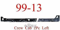 99 15 Left Crew Cab Inner Rocker Panel 2Pc, Chevy GMC Truck, Silverado Sierra