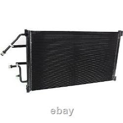 AC Condenser For 94-02 Chevy-GMC C/K1500-C/K2500-C/K3500 With Charge Port