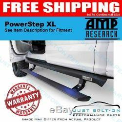AMP PowerStep XL 2007-2014 GMC Sierra 2500 HD Gas Crew Cab 77126-01A Black