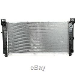 Aluminum Radiator For 99-14 Escalade Avalanche Silverado Sierra Yukon 22840117