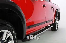 BOLT LOOK BODYSIDE MOLDING FOR SILVERADO / SIERRA (2007-2013) NO DRILL crew cab
