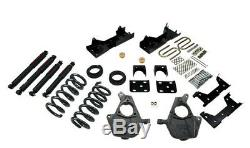 Belltech Lowering Kits 04-06 GM Silv/Sierra 1500 Crew Cab 4/5F 6R withND Shocks