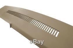 Blazer Yukon Suburban C1500 K1500 Molded Plastic Dash Cover Overlay Skin Beige
