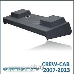 Chevy Silverado & Gmc Sierra Crew Cab 10 Ported Sub Box Subwoofer Enclosure