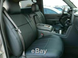 Clazzio Synthetic Leather Custom Seat Covers For Chevy Silverado & GMC Sierra