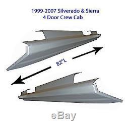 Crew Cab Chevrolet Silverado Suburban 4 Door Rocker Panels 99-06 1 Pair
