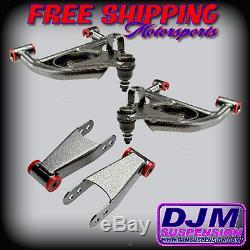 DJM Suspension Silverado 2/2 Lowering Drop Control Arm Shackle Kit Crew Cab