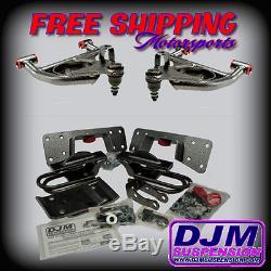 DJM Suspension Silverado Sierra 4/6 Lowering Drop Control Arm Flip Kit Crew Cab