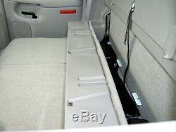 DU-HA 10013 Behind The Seat Storage for 00-07 Silverado Sierra HD Crew Cab Black