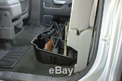 DU-HA 10300 Underseat Storage For Silverado Sierra 2015-18 Crew Cab Black