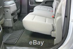 DU-HA 10303 Underseat Storage for Silverado Sierra 15-19 LD HD Crew Cab Brown