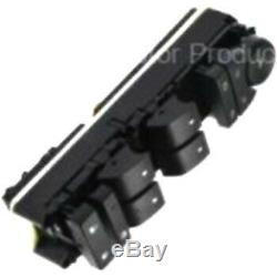 DWS-1004 Power Window Switch Front Driver Left Side New Black for Chevy GMC