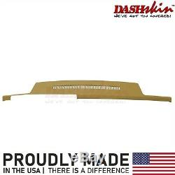 Dash Skin Cap Cover Overlay 88-94 Blazer Silverado C1500 K1500 Cognac Camel Tan